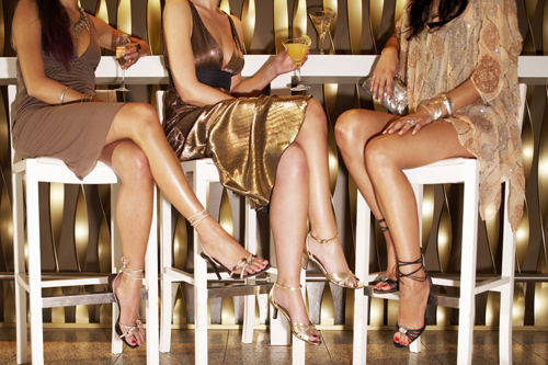 Orgy stockings and heels sluts